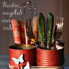 Tin Can Caddy by ALL YOU reader Debbie M.