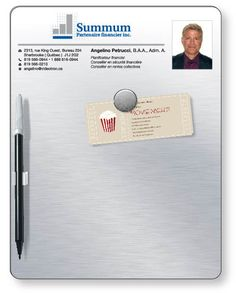 Bulletin Memo Board Kit in Rubber Steel Rectangular with round corners Memo Boards, Plastic Items, Realtor Gifts, Branding Ideas, Kit, Steel, How To Make, Steel Grades, Iron