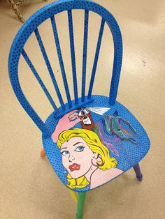 ART CLUB Artist's chairs - i did these in middle school and i loved it!!!