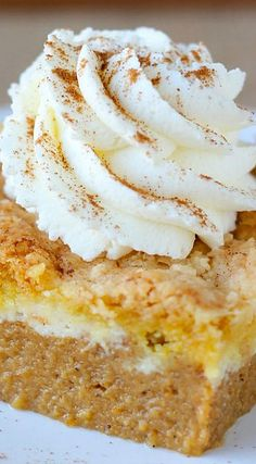 Pumpkin Cream Cheese Dump Cake | pumpkin desserts, pumpkin recipe