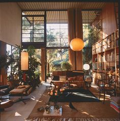 Eames, furniture, light, architecture
