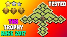 Town Hall 8 Trophy Base 2017. New TH8 Titan League Trophy Pushing Base. Anti Everything TH8 Trophy Base Clash Of Clans Update 2017 Special. Town Hall 8 (TH8) Trophy Base Anti 3 Stars.  http://ift.tt/2lHtOjK    N:B: CLICK THE BELL ICON (  ) SO THAT YOU WILL GET ALL UPDATE NOTIFICATIONS!  Welcome to another brand new clash of clans episode. In this video we are going to talk about TH8 Trophy Base 2017 for pushing toward Titan League. Let's get into this!  If you are an owner of Town Hall 8…