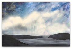 "ARTFINDER: The Coming Rain by Jessica Sanders - ""The Coming Rain"" has the promise of the future inside it.  Rain is a catalyst for potential -- the rain causes the seed to burst forth with new life.  This ..."