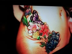 I love the placement for a cover up for my lower hip tattoo, just not my style on the actual design