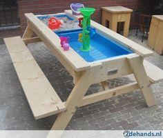 Zand en watertafel