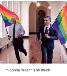 Barack and Biden bromance (no cares if this is photoshopped, the imagery is just too much fun)