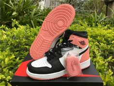 "4ac873c1a7a Air Jordan 1 ""Rust Pink women Girl Jordans"