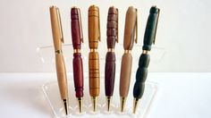 Handmade Wooden Pens Handcrafted Pens Office by Elegencebyelaine, $26.00