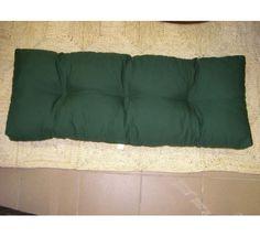 Doplnkydozahrady - SEDÁKY NA PALETOVÝ NÁBYTOK - poduška 120x40 na paletový nábytok K3 zelená