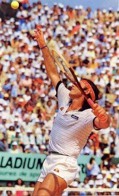 Guillermo Vilas, Paris 1982 - 80s-tennis.com
