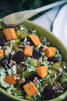 Add some versatility to your side dishes by embracing the vegetables used in this roasted salad recipe.