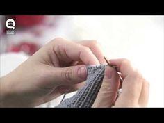 Realizzare un guanto a maglia/2 Presenta Emma Fassio - YouTube