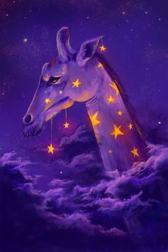 Mystic Giraffe - Reach for the Stars