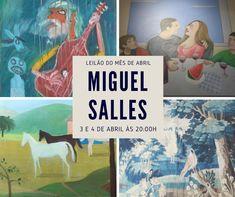 Leilão Miguel Salles com mais de 240 lotes nos dias 3 e 4 de abril de 2018 - Blog Leilões BR