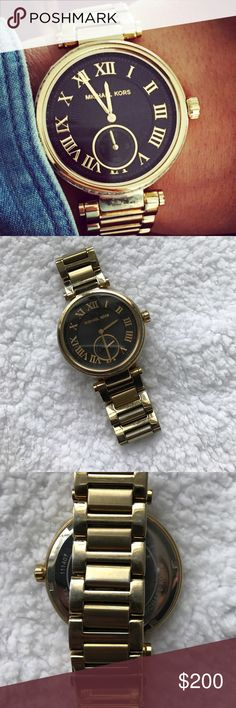 Michael Kors MK5989 Watch Good Condition. Some signs of wear on watch links as shown in picture. Nothing noticeable Michael Kors Accessories Watches