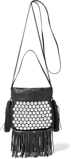 8341d6b4f5 Black textured-leather (Lamb) Drawstring top Weighs approximately Made in  Italy. One BagClutch PurseBeautiful ...