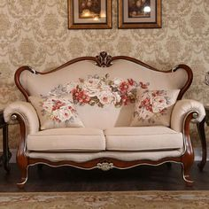 High end floral jacquard fabric with fit size Sofa Upholstery, Fabric Sofa, Jacquard Fabric, Love Seat, Couch, Fit, Floral, Furniture, Home Decor