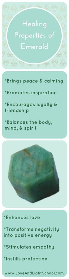 "A Crystal Message about the Healing Properties of Emerald: ""Feel your heart open to the world around you.  Awaken your spiritual heart and connect with friends and loved ones in a joyous celebration."" Common Healing Properties of Emerald: Brings peace and calming Promotes inspiration Brings loyalty to … Read More"