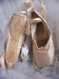 Ballet Pointe shoes ~~ Every ballet dancers dream, the day you get your pointe shoes!