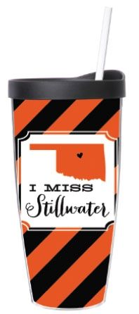 Must have this! I Miss Stillwater double-walled Tumbler $16.98 www.cutebooze.com