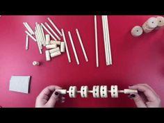 #Spielzeug aus naturbelassenem #Holz für #Kinder ab 8 Jahren zum #Konstruieren und #Bauen Triangle, News, Videos, Youtube, Kids Wood, Woodworking Toys, Video Clip