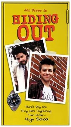 """A year after he played Duckie, Jon Cryer was """"Hiding Out"""" in high school."""