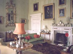 The Green Drawing Room at Ragley Hall