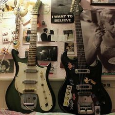 Music Aesthetic, Aesthetic Grunge, Crystal Room, Cool Electric Guitars, Cool Rocks, Guitar Design, Cool Guitar, Punk Rock, Aesthetic Pictures