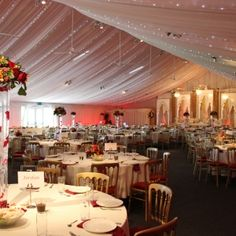 Heaton House Farm, Asian Wedding, Wedding Venue, Dining, Wedding Breakfast, Table Layout, Table Design, Feast
