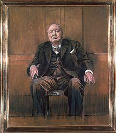 1954 Graham Sutherland Portrait Of Winston Churchill