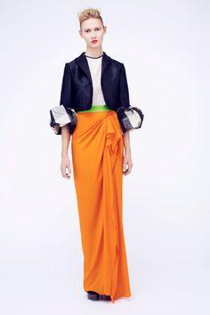 Tangerine Tango Skirt