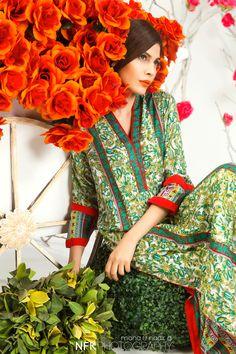 #fashion #shoot #editorial #flowers #spring #summer #orange #shalwarkameez #nadirfirozkhan #styling #mahaBurney #pakistani