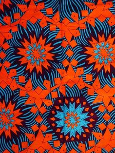 Bright African print fabric sold by yard/Cotton fabric/ African fabric for african dress skirt/ Blue African fabric/African wax print fabric - pattern/texture/structure - backgrounds - African Print Pants, African Print Clothing, African Print Dresses, African Print Fashion, Africa Fashion, African Dress, Ankara Fashion, African Attire, African Fabric
