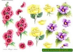 Nieuw bij Knutselparade: 2335 Wekabo knipvel bloemen 719 https://knutselparade.nl/nl/bloemen/4575-2335-wekabo-knipvel-bloemen-719.html   Knipvellen, Bloemen  -
