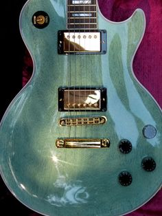 2012 Gibson Les Paul Custom TV Inverness Green Gloss Rosewood Board Mint CS | eBay