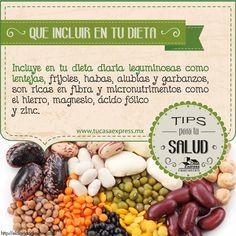 Leguminosas, que no falten en tu dieta. Tu Casa Express #Hogar #Cocina #Salud