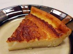cooking art: Magic Crust Custard Pie