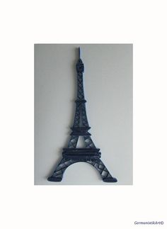 The Eiffel Tower Quilling Card Quilled Eiffel by GermanistikArt, $8.50