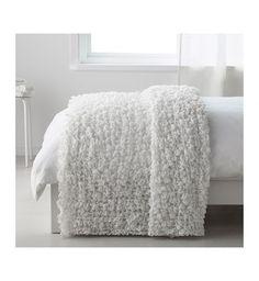 IKEA OFELIA Throw Blanket 130x170CM White