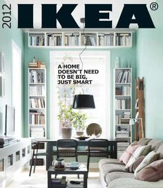 Ikea 2012 Small Space Furniture Catalogue.    http://freshome.com/2011/07/26/ikea-2012-catalogue-preview-small-spaces-and-trendy-colours/