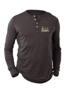 57th GRAMMYs Premium Long Sleeve Logo Henley