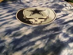 Steal Your Face Cowboys Grateful Dead style Lot t-shirt Dallas Tie Dye Phish LRG #HanesBeefyHighQuality #ShortSleeve #tiedye #lotee