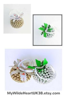Add sparkle to your Christmas tree decorations with these gold and silver balls!  #Christmas #Christmasdecorations #Christmastreedecorations #rusticchristmas