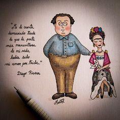 Frida y Diego por la ingeniera venezolana con corazón de arquitecto: Martha Machado Ducoing.