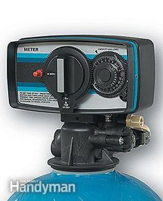 A water softener repair for a Fleck control head uses different parts. Water Softener Installation Guide: http://www.familyhandyman.com/plumbing/water-softener-repair/water-softener-installation-how-and-when-to-rebuild/view-all