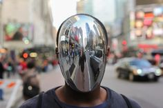 """""""We are not human beings having a spiritual experience; we are spiritual beings having a human experience. Shadow Costume, Brandon Stanton, Science Fiction, Camouflage, Space Lab, Humans Of New York, Post Apocalypse, Fashion Mask, Photography Projects"""