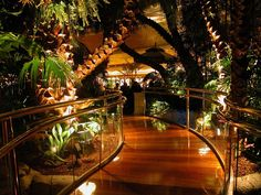Rainforest Cafe, Las Vegas by Rob Young, via Flickr