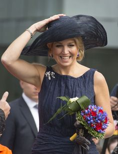 Queen Maxima - The Dutch Royal Family Continue Their Coronation Tour