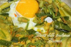 Zuppa estiva di fiori di zucca | Quella lucina nella cucina