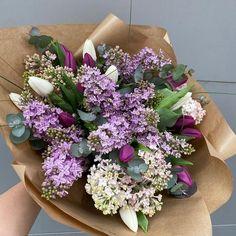 #springaesthetic #lilacs #tulips #lalele #liliac #buchete Lilacs, Tulips, Spring Aesthetic, Magnolia, Iris, Flower Arrangements, Inspiration, Birthdays, Biblical Inspiration